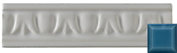 Classic crown moulding bluebell 152x38x9mm