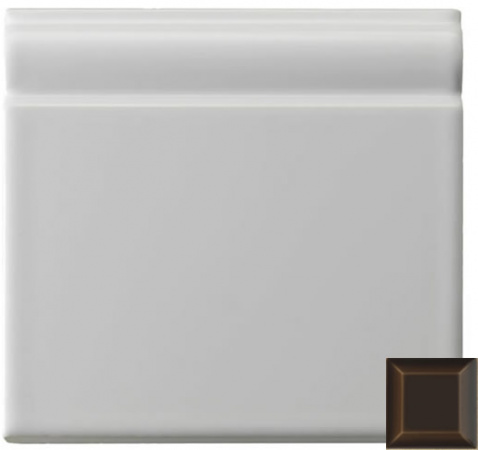 Classic skirting moulding chocolate 152x152x20mm