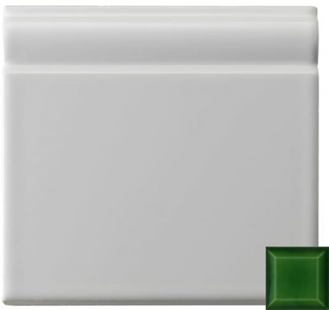 Classic skirting moulding victorian green 152x152x20mm